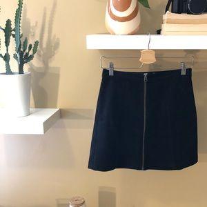 Wilfred Suede Skirt